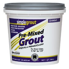 Pre Mixed Grout in Earth (Set of 6)
