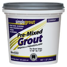 Pre Mixed Grout in Alabaster (Set of 6)