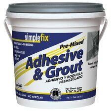 Premixed Adhesive and Grout 1 Gallon (Set of 2)