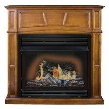 Savannah Full Size Dual Fuel Gas Fireplace