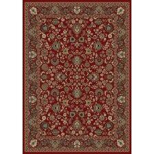 Persian Classics Oriental Mahal Red Area Rug