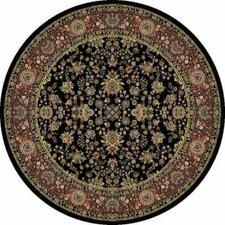 Mantra Sarouk Black Rug