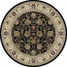 Mantra Tabriz Black Rug