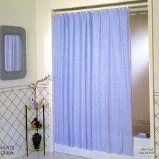 Vinyl Luxury Glitter Shower Curtain