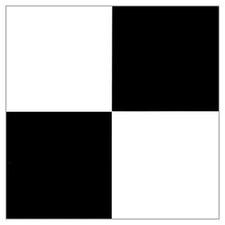 "12"" x 12"" 45 Piece Luxury Vinyl Tile in Black / White"