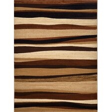 Tribeca Brown Area Rug