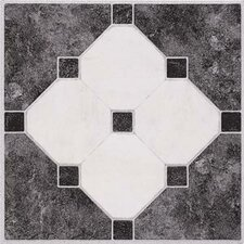"Dynamix Vinyl Tile 12"" x 12"" Luxury Vinyl Tiles in Madison Stone"