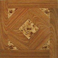 "Dynamix Vinyl Tile 12"" x 12"" Luxury Vinyl Tiles in Madison Woodtone/Marble"