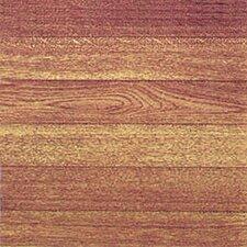 """12"""" x 12"""" Luxury Vinyl Tile in Light Wood Slats"""