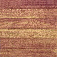 """12"""" x 12"""" Vinyl Tile in Light Wood Slats"""