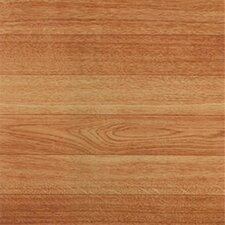 "12"" x 12"" Luxury Vinyl Tile in Blonde Wood Slats"