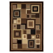 Catalina Black & Brown Area Rug