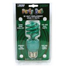 13W Colored Fluorescent Light Bulb