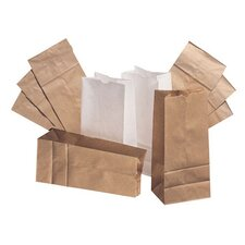 10 Paper Bag in White