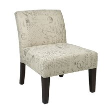 Laguna Fabric Upholstered Slipper Chair