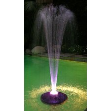 48 LED Light Floating Spray Fountain with 550 GPH Pump