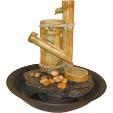 Large Eternity Bamboo Slide Tabletop Fountain