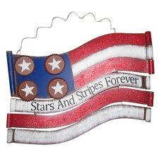 American Flag Metal Wall Décor