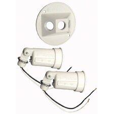 Round Dual Lampholder