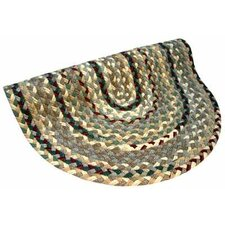 Beacon Hill Round Beige/Green Area Rug