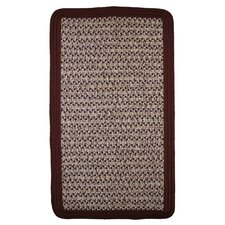 Town Crier Burgundy Indoor/Outdoor Rug
