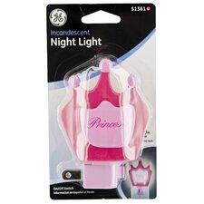Incandescent Princess Night Light
