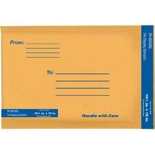 "10.5"" x 15"" Kraft Manila USPS Padded Mailer"