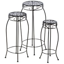 Martini Novelty Plant Stand (Set of 3)