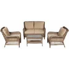 Cotswold 4 Piece Seating Group with Cushion