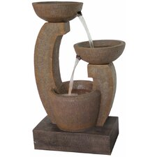 Cascade Resin Outdoor Fountain