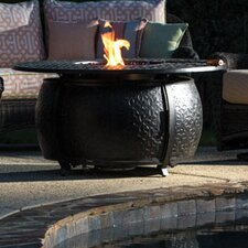 Margherita Aluminum Gas Fire Pit Table