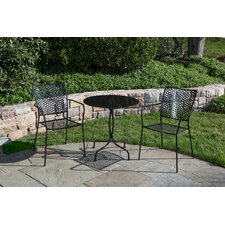 Martini 3 Piece Bistro Set II