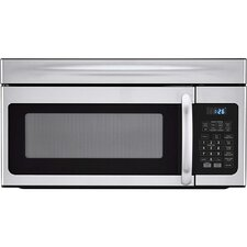 1.6 Cu. Ft. 1000W Over-the-Range Microwave in Silver