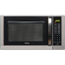 0.9 Cu. Ft. 900W Countertop Microwave in Silver