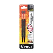 Refill For Q7 Retractable Gel Roller Ball Pen (Set of 3)