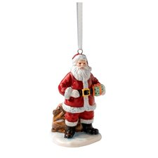 Annual Santa with Sack Ornament
