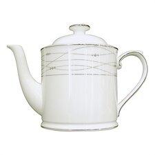 Precious Platinum 1.13-qt. Teapot