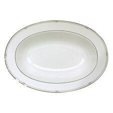 Precious Platinum Serving Bowl