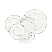Precious Platinum Dinnerware Collection