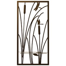 Dragonflies and Cat Tails Wall Décor
