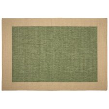 Islander Green Solid Indoor/Outdoor Area Rug