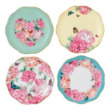 "Miranda Kerr 3.9"" Tidbit  Accent Plate 4 Piece Set"
