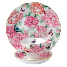 "Miranda Kerr 8"" Gratitude 3 Piece Tea Place Setting"