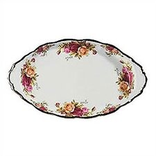 Old Country Roses Sugar and Cream Regal Platter