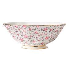 Rose Confetti Formal Vintage Salad Bowl