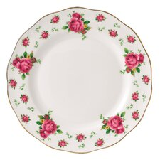 """New Country Roses Formal Vintage 10.6"""" Dinner Plate"""