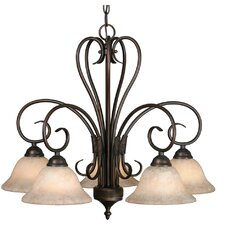 Porter 5 Light Nook Chandelier