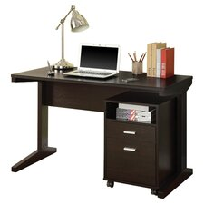 Computer Desk with File