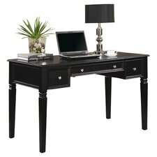 Hartland Computer Desk with Keyboard Tray and 2 Drawer