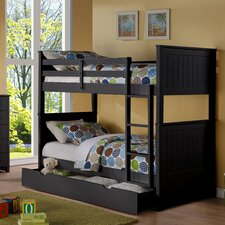 Grove Twin over Twin Standard Bunk Bed with Storage